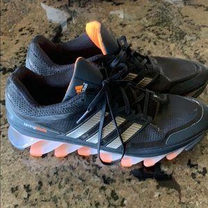Adidas Spring blade razor Techfit running shoe